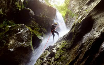 Canyoning only few kilometers from Borgomaro