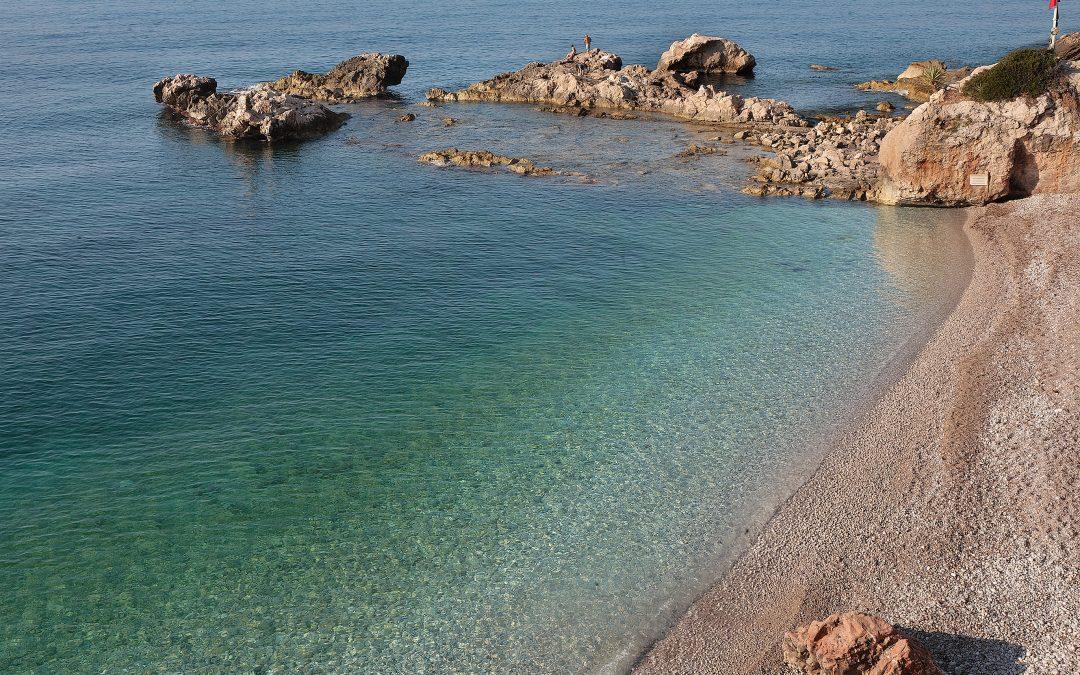 Spiaggia Balzi Rossi